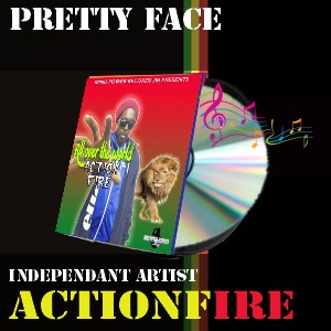 Actionfire pretty face